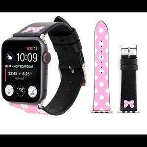 Apple Watch band Minnie Mouse Disney 38mm New